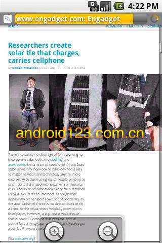 android webkit