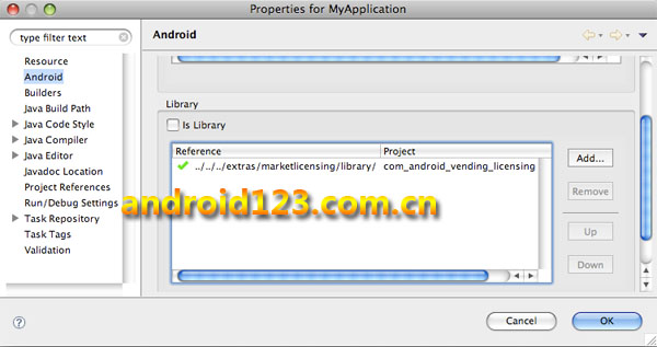 android licenseing library