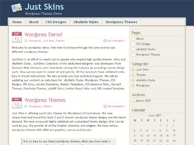Silicon WordPress Theme
