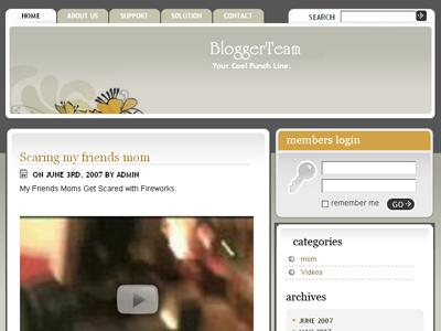 Softimage WordPress Theme