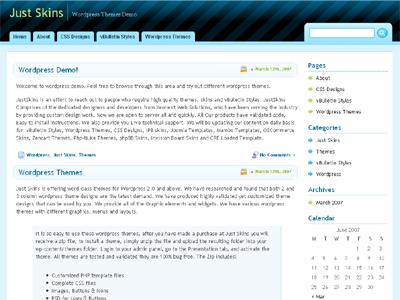 Curved WordPress Theme