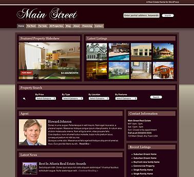 Mainstreet Real Estate Theme