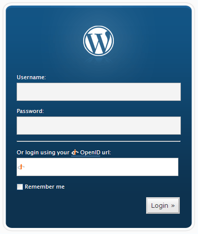 wp-login-with-openid