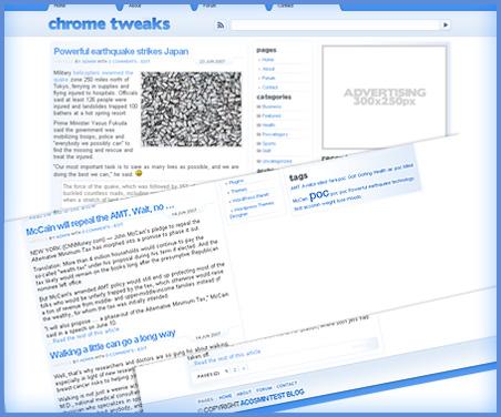 Chrome Tweaks