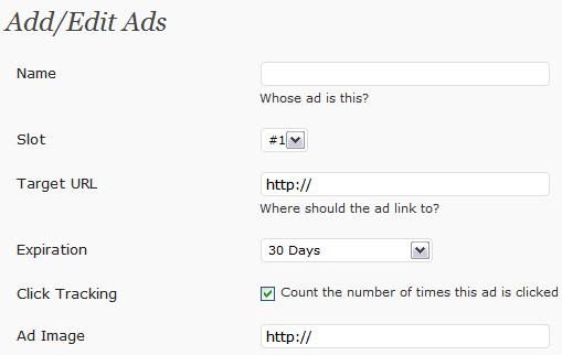 WP125:添加广告位